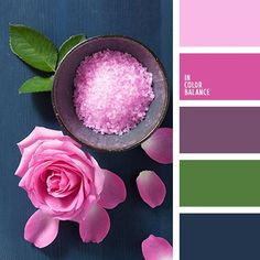 Free collection of color palettes ideas for all the occasions: decorate your house, flat, bedroom, kitchen, living room and even wedding with our color ideas. Color Schemes Colour Palettes, Colour Pallette, Color Combos, Color Harmony, Color Balance, Lilac Color, Pale Pink, Design Seeds, Color Swatches