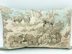 Deer Cushion Deer, Cushions, Room Decor, Textiles, Throw Pillows, Toss Pillows, Toss Pillows, Pillows, Decorative Pillows