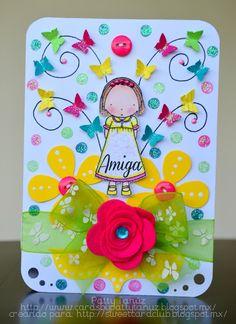 Qué linda tarjeta :)