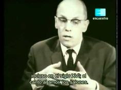 Badiou interviews Michel Foucault (1965) 1/3 English Subtitles