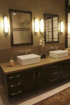 Master Bathroom - asian - bathroom - denver - by Design Times Inc