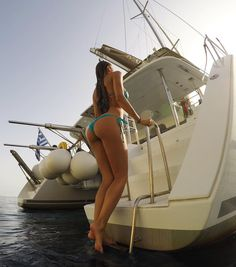 Best weather + Caldera Yachting = ❤️ Santorini,Greece. photo: @mavrin_diary #MAVRIN #MAVRINmodels #VikiOdintcova calderayachting.gr