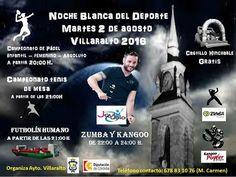 Noche blanca del deporte en Villaralto