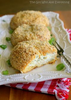 Pesto Chicken Pillows - The Girl Who Ate Everything