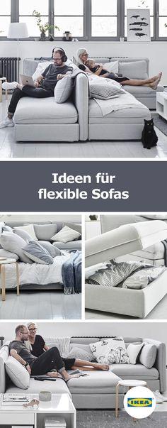 IKEA Deutschland | Ideen Für Flexible Sofas