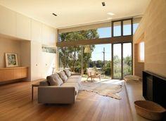 Decoracion de interiores calida en madera