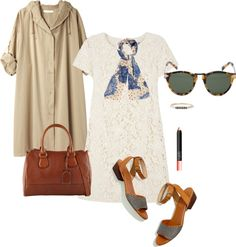 What to Wear to Sunday Brunch by themodernexchange   Polyvore