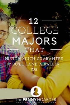 If you want to actually make money when you graduate, here are the 12 best college majors. - The Penny Hoarder http://www.thepennyhoarder.com/best-college-majors-in-demand-jobs/