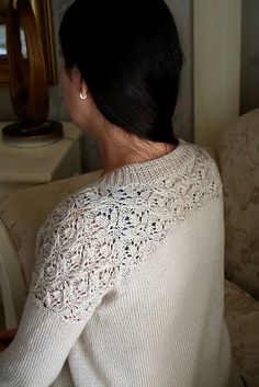 Ravelry: Project Gallery for Fleur cardi pattern by Svetlana Volkova