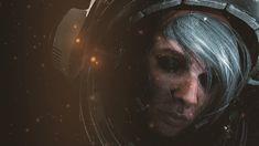 ArtStation - Cosmonaut - Derek Stenning Fan Art, Ryan Blake