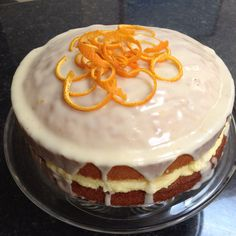 Orange layer cake - primrose bakery recipe