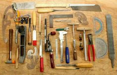 Guitar Making tools