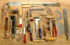 Guitar Making tools