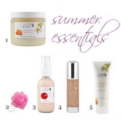 Toxin-free beauty products: summer essentials!!