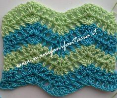 13 Fantastiche Immagini Su Coperte Blankets Crochet Patterns E