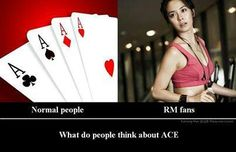 Running man only ace~