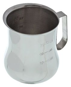 Update International EPB40M 40 Oz Stainless Steel Frothing Pitcher wMeasuring Scale *** Click image for more details.