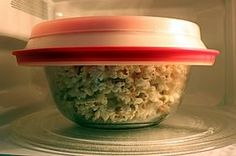 Microwave popcorn from scratch...no bags to throw away!