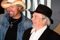 CMT : Photos : Featured Photo : Merle Haggard Toby Keith BMI ...