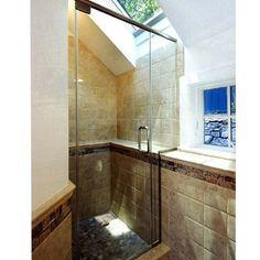 bathroom skylight   Boston Bathroom skylight Design Ideas, Pictures, Remodel and Decor