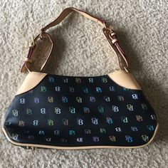 Super Cute Baby Phat Purse In good condition, has normal wear along strap & top..  Rainbow zippers, interior slip pocket, interior zip pocket, back zip pocket, and cute heart zipper accents. Baby Phat Bags Shoulder Bags