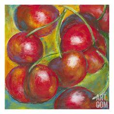 Abstract Fruits III Premium Giclee Print by Chariklia Zarris at Art.com