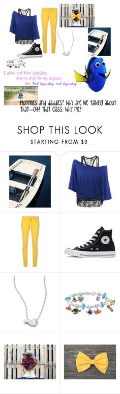 """""""Dory!"""" by persassy-4-life ❤ liked on Polyvore featuring M Missoni, Converse, Alex Woo, The Bradford Exchange and Disney Pixar Finding Dory"""