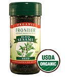 Frontier Organic Black Sesame Seeds