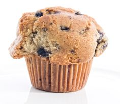 The perfect way to start your day! Whole Wheat Blueberry Muffins - fabulous!
