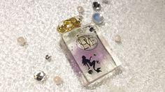 レジン 香水瓶にオイルの入れ方 Resin How to put in nail oil in to perfume bottle