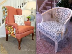 Tutorials: Leather Furniture, Leather Sofa, Painted Furniture, Paint Upholstery, Chair Upholstery, Clean White Leather, Old Sofa, Old Chairs, Furniture Restoration