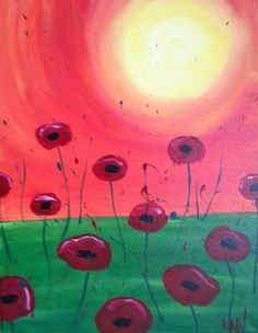 Poppies Big Little, Kids Events, Our Kids, Poppies, Painting, Painting Art, Paintings, Poppy, Drawings