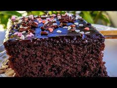 Σοκολατόπιτα της Γκολφως υπέροχη, η καλυτερη δοκιμαστετη θα παθετε πλάκα - YouTube Greek Desserts, Greek Recipes, Brownie Bar, Brownies, Food And Drink, Sweets, Chocolate Cakes, Youtube, Cake Brownies