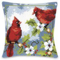 Cardinals Quickpoint Pillow Top Kit