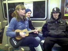 Subway Strangers make music!