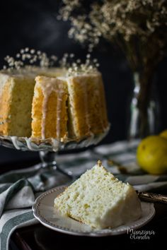 Angel Food de limón