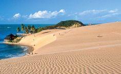 As dunas de Genipabu (RN)