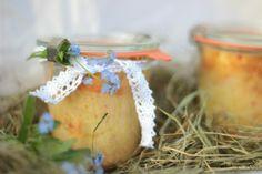 Osteridee: Karotten-Kokos-Kuchen im Glas