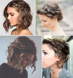 Hairstyles For Short Hair Custom 29 Festival Hair Tutorials  Hairshay Verdoni  Pinterest