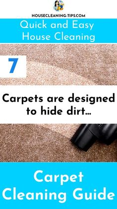The Carpet Cleaning Guide: Discover What It Takes To Keep Your Carpet Looking Good #carpetcleaning #carpetcleaningtips #vacuumcleaners Cleaning Recipes, Cleaning Hacks, How To Clean Carpet, Clean House, Easy, Design