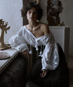 Vogue Ukraine March 2016 Iana Godnia by Phil Poynter