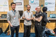 The Team From Pin Me To At The Web Summit -  #infomatique