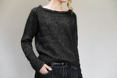 these yarns are beautiful together.  Would make a beautiful scarf.  Garance Pullover Pattern