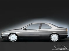 Alfa Romeo 164 Coupé | photoshop chop by Sebastian Motsch (2013)