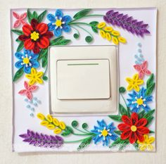 ecstatic over paper: Switch Plate Frame
