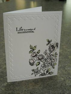 CAS elements of style sympathy by rokale - Cards and Paper Crafts at Splitcoaststampers
