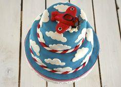 Airplane Birthday Cakes, Planes Cake, Acacia Honey, Clean Eating Snacks, Cake Designs, Fondant, Pancakes, Cake Decorating, Wedding Cakes