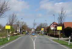 Nordseebad Carolinensiel, Ortseingang Wittmunder Straße