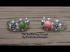 BeadifulNights' Beaded Ring Tutorials ~ The Beading Gem's Journal