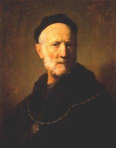 Bust of an Old Man, 1631, Rembrandt Van Rijn